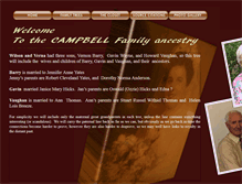 Tablet Preview of campbellteanau.net
